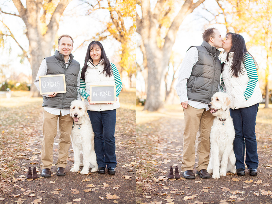 Grace Combs Photography Baby Announcement Photography